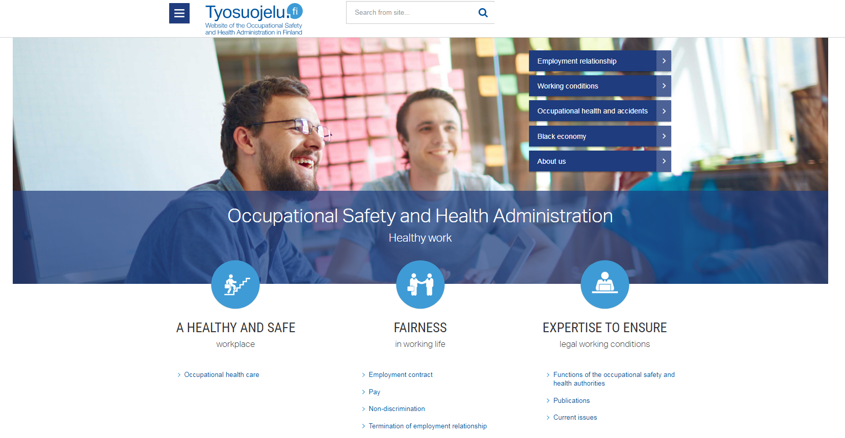 Occupational Safety and Health Administration Finland
