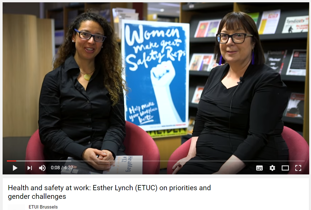 Esther Lynch (ETUC) interview