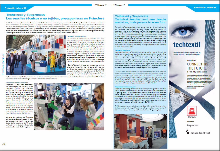 Techtextil advertorial