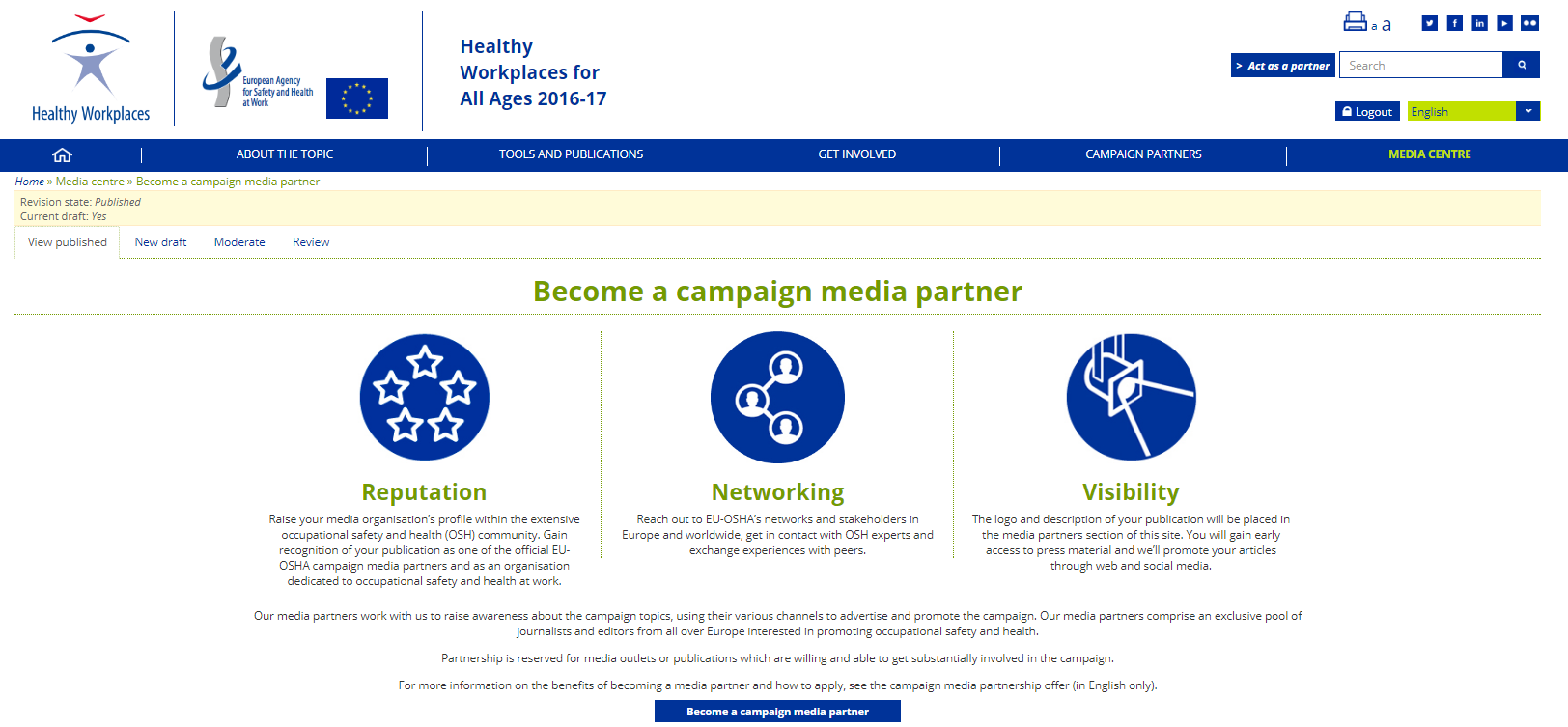Become a campaign media partner