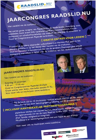 Dutch Federation of Councillors Annual Conference