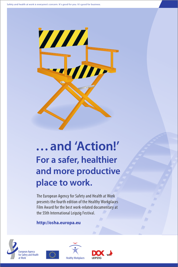 Healthy Workplaces Film Award Print Advertising