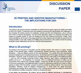 3D printing: a new industrial revolution