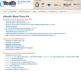 eHealth Week Press Kit