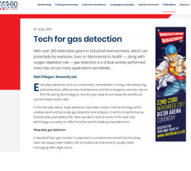 Tech for Gas Detection article
