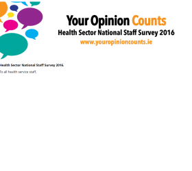Health Sector National Staff Survey 2016