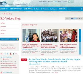 IRD Voices Blog