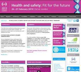 Health and safety: Fit for the future