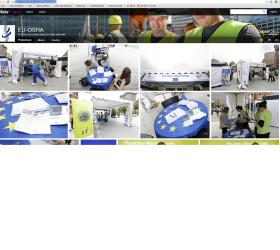 Flickr profile of EU-OSHA